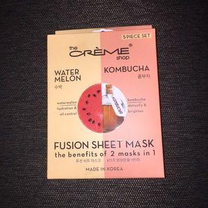 5 Watermelon & Kombucha Fusion Sheet Masks